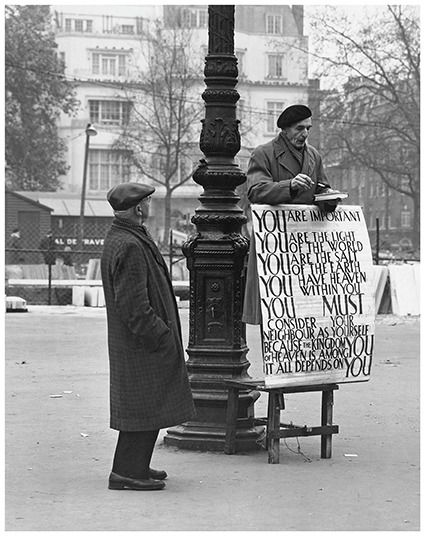 """Kees Scherer (1920-1993) - Orator """"You are important"""" - London 1959"""