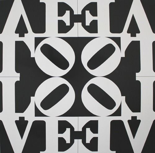 Robert Indiana (after) - Love Rising