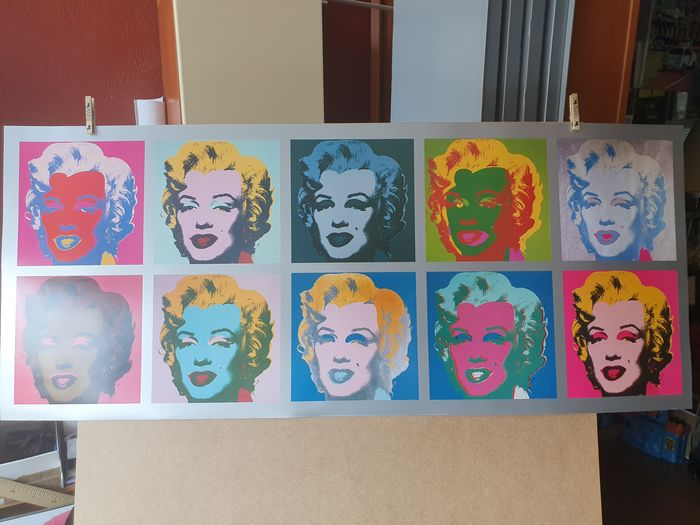 Andy Warhol - Teen Marylin Colours