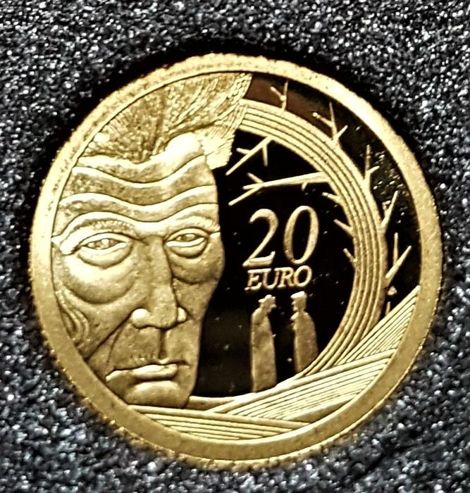 Irlande - 20 Euro 2006 - Samuel Beckett Birth 100th Anniversary - 1/25 Oz - 24K Au - Or