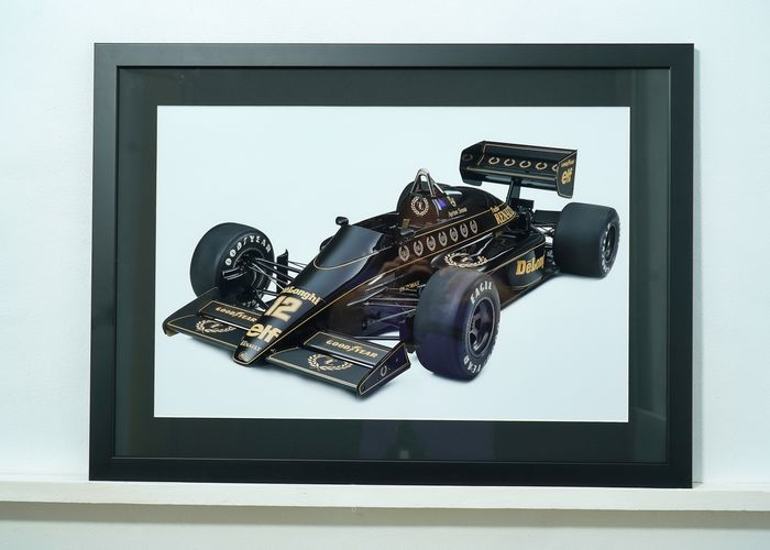 Cadre - Lotus Renault 98T 1986-  Ayrton Senna  - Limited edition 50 pcs - Ayrton Senna - Post 2000
