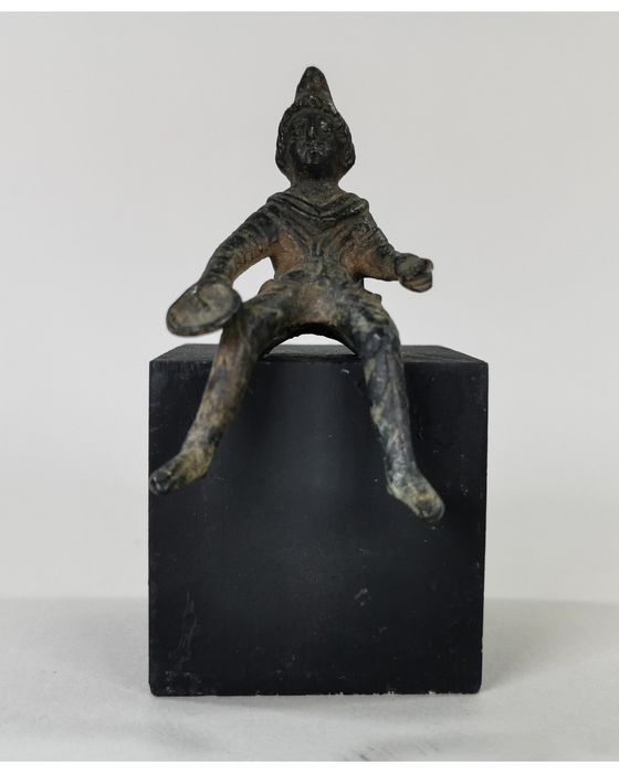 Ancient Roman  Bronze Figurine of Mithras, a Military God