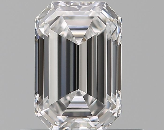Diamond - 0.60 ct - Emerald - D (colourless) - IF (flawless)