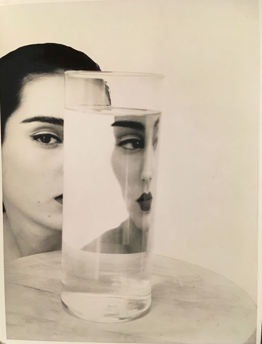 David Seidner (1957-1999) - Rosima with Glass of Water, 1984