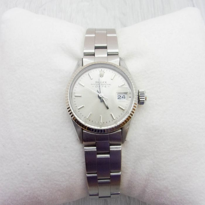 Rolex - Oyster Perpetual Date - 6517 NO RESERVE PRICE  - Women - 1990-1999