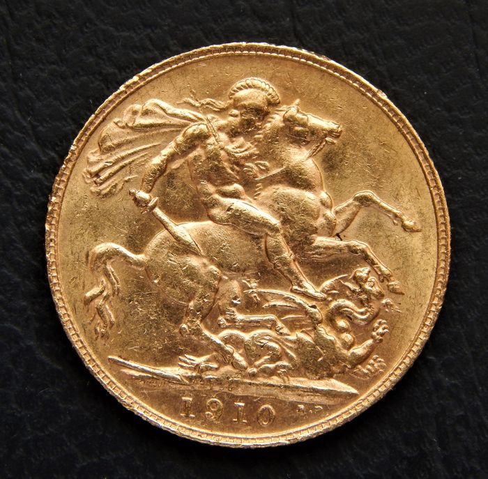 Australië - Sovereign 1910P (Perth) - Edward VII - Goud