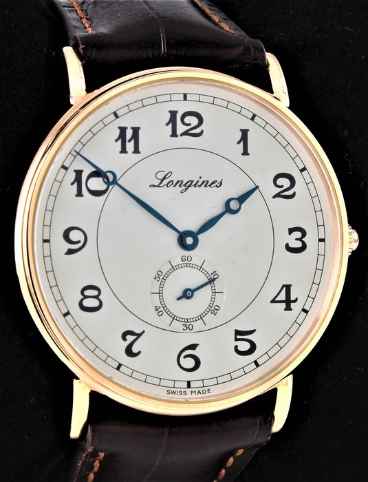 Longines - Presence Heritage - 18 Karat Pink Gold - Automatic Chronometer - Ref. L2.785.5 - Excellent Condition - Warranty - My Personal Gift - Men - 2011-present