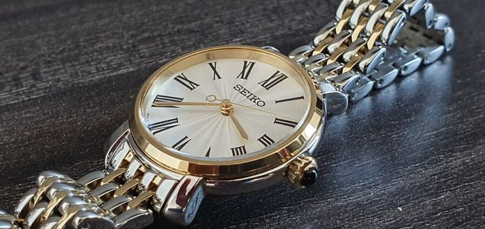 Seiko - Luxury Gold plated and steel combination - Damen - 2011-heute