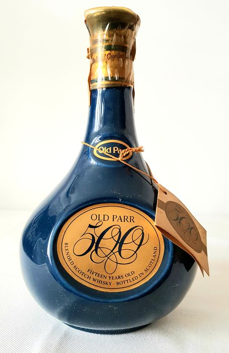 Old Parr 15 years old 500 years of birth 1483-1983 - Macdonald Greenlees LTD - b. 1983 - 75cl