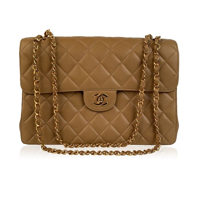 Chanel - Quilted Leather Double Sided Flap  Schoudertas