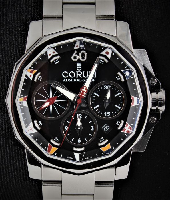 Corum - The Admirals Cup Challenger - Officially Certified C.O.S.C. Chronometre - Ref. No: 01.0007  - Excellent Condition - Warranty - Men - 2011-present