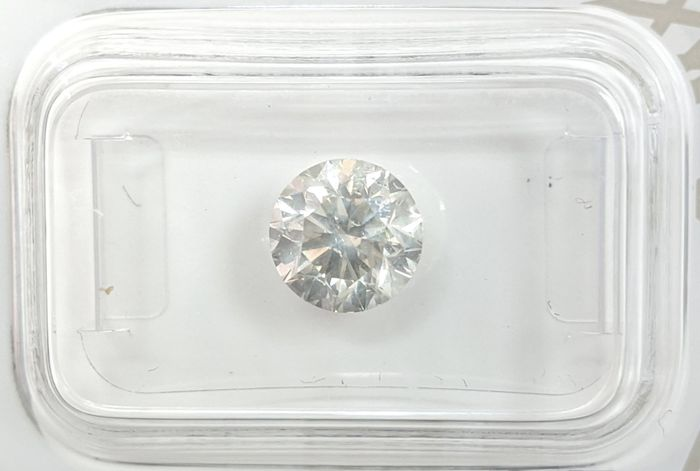 Diamant - 1.55 ct - Brillant - H - SI1, No Reserve Price