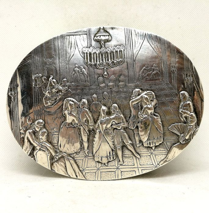 Superb Jewelry Box - Silver - George Roth & Co - Germany - Late 19th century