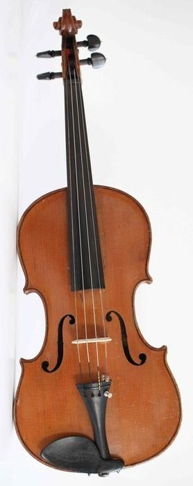 Labeled Enricus Ceruti - 4/4 - violin - Italien - 1872