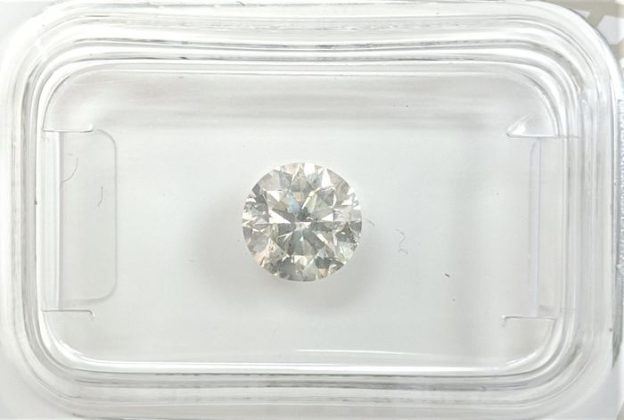 Diamant - 0.93 ct - Briljant - H - SI2, No Reserve Price