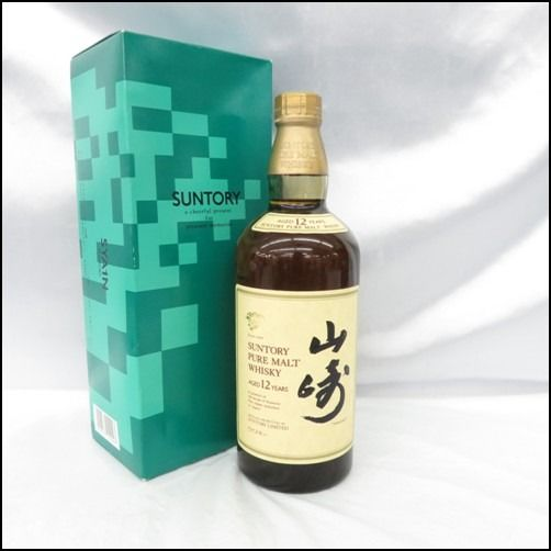Yamazaki 12 years old Pure Malt  - Suntory - b. appr. 1990 - 750ml