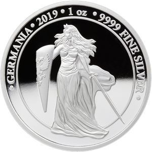 Germany - 5 Mark 2019 Germania - 1 Oz - Silver