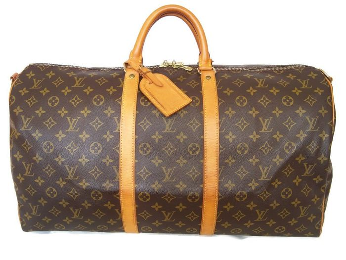 Louis Vuitton - Keepall 55 Luggage bag + LV Accessories *