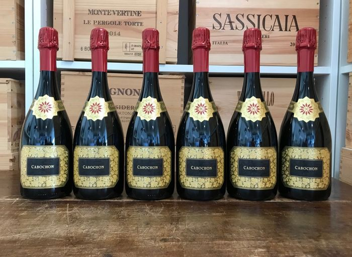 "Monte Rossa Cabochon ""Fuoriserie N° 021"" - Franciacorta - 6 Bottles (0.75L)"