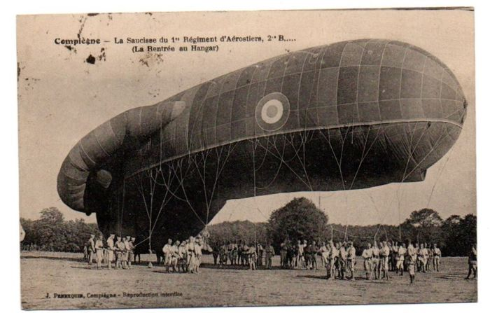 France - Aviation, Airships - Postcards (Set of 33) - 1907