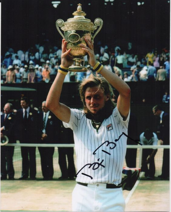 Tennis - Bjorn Borg - Photo
