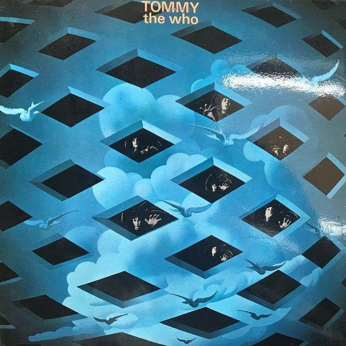 "Who - ""Tommy"" (very low number !) - 2xLP Album (double album), Limited edition - 1969"