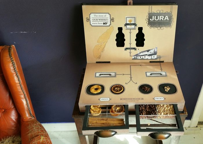 Isle of Jura Demo kit 'The Story of our Whisky' - 9.7kg