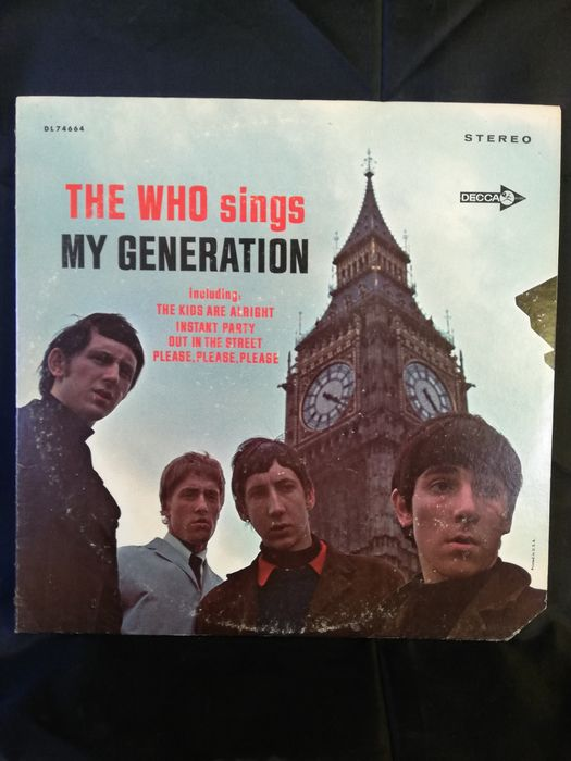 Who - The Who Sings My Generation - LP Album - 1967/1967