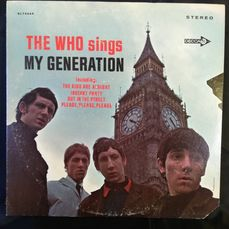 Who - The Who Sings My Generation - Álbum LP - 1967/1967