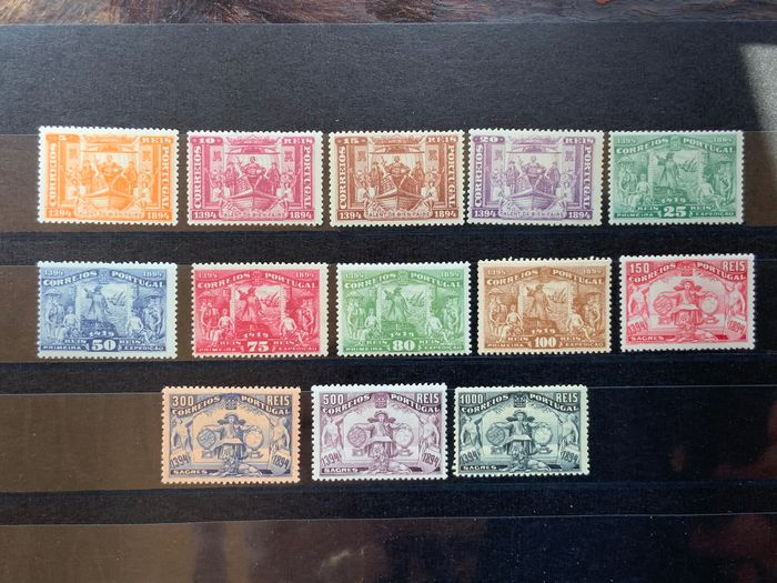 Portugal 1894 - 5th Centennial of the Birth of Infante D. Henrique - Mundifil 98/110