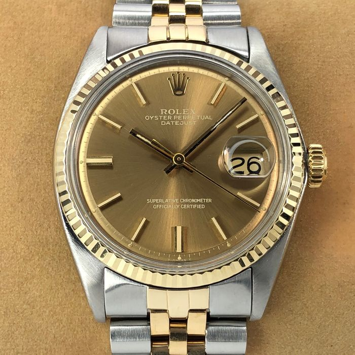 Rolex - Datejust - 1601 - Heren - 1970-1979