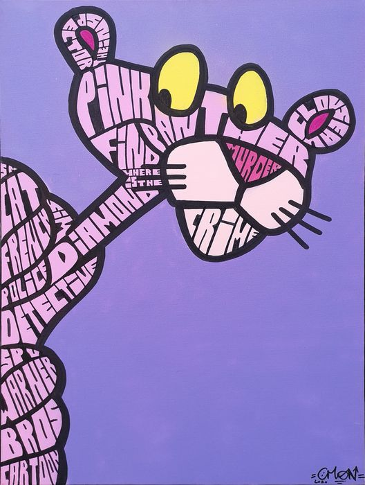 C-Mon - Graff'racter : The Pink Panther