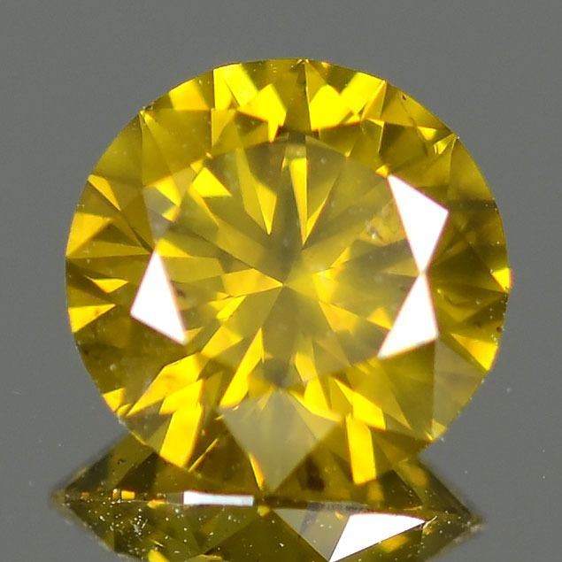 Diamant - 1.08 ct - Brillant, Rond - SI2