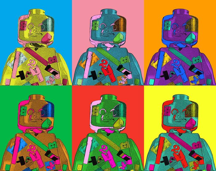 Alessandro Piano - Alter Ego Andy - Lego Andy Warhol