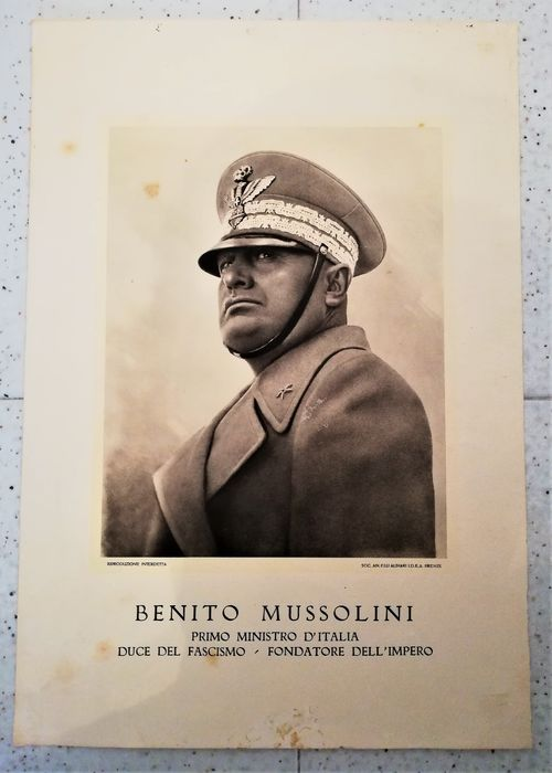 Italy - army - Poster - 1936