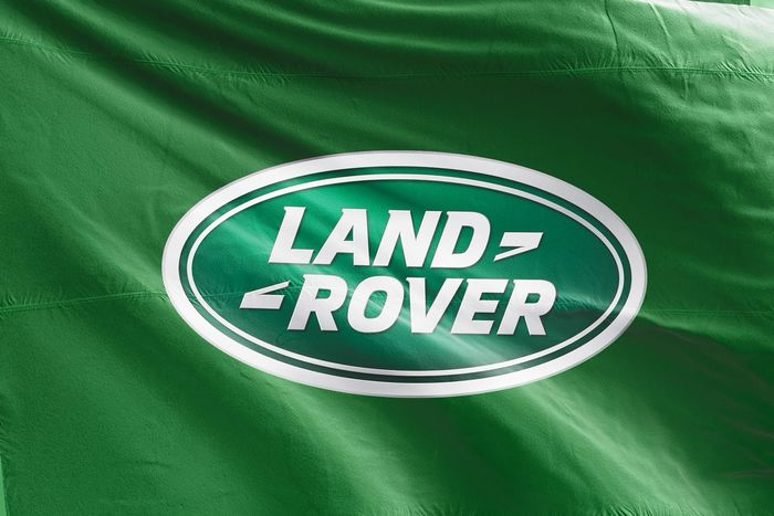 Decoratief object - Official flag - 150x90 cm - Land Rover - Na 2000