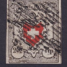 Zwitserland 1850 - Local-Post without framed cross - Zumstein 13II