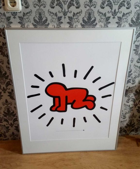 Keith Haring  - Untitled Radiant Baby