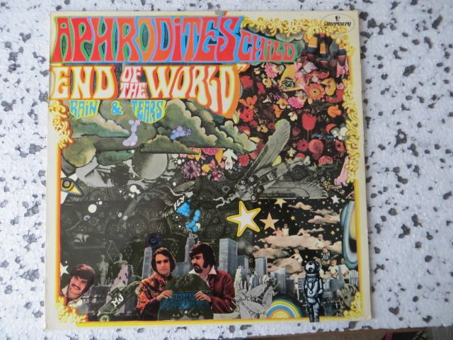Aphrodies Child, Herman's Hermits, Sonny & Cher, The Kinks, The Move, The Byrds - Great LP-Collection (17)  POP/ROCK from the Sixties - LP's - 1968/1983