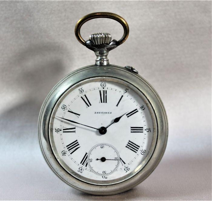 Longines - pocket watch NO RESERVE PRICE - 494613 - Homem - 1850-1900