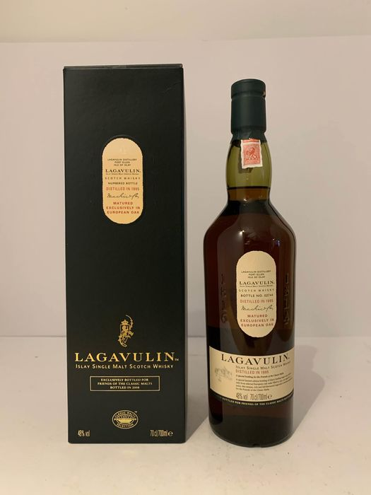 Lagavulin 1995 12 years old Friends of Classic Malts - Original bottling - 70cl