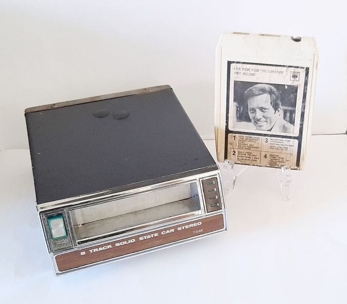 8-Track stereo tape player - KS-807 - SOLID STATE - 1960-1970