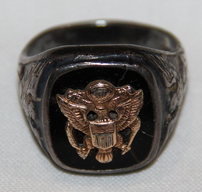 United States of America - U.S. Army Silver Ring - 1944
