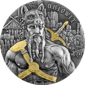 Germania - 10 Mark 2020  The Warriors - Ariowit - 2 Oz No:014 - Silver