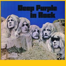 Deep Purple - Deep Purple In Rock - LP Album - 1970/1970