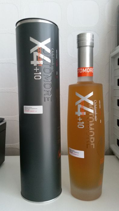 Octomore 10 years old X4 + 10 - Original bottling - b. 2019 - 500ml