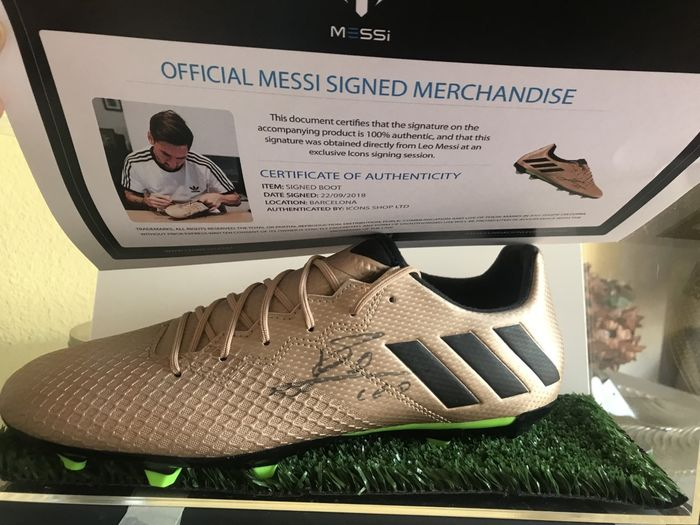 FC Barcelona and Argentina - Champions Football League - Lionel Messi - Football Shoes