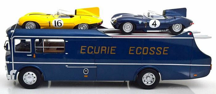 CMR - 1:18 - Commer Truck TS3 - Teamtransporter Ecurie Ecosse 1959 - Limited edition