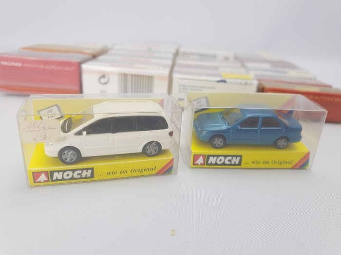 Herpa, Noch, Wiking, Rietze 1:87 - Model cars - 27 models from after the year 2000