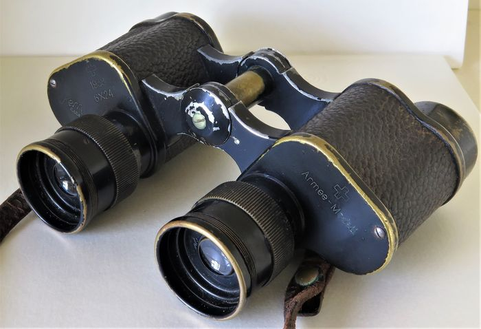 Switzerland - Binoculars - 1938